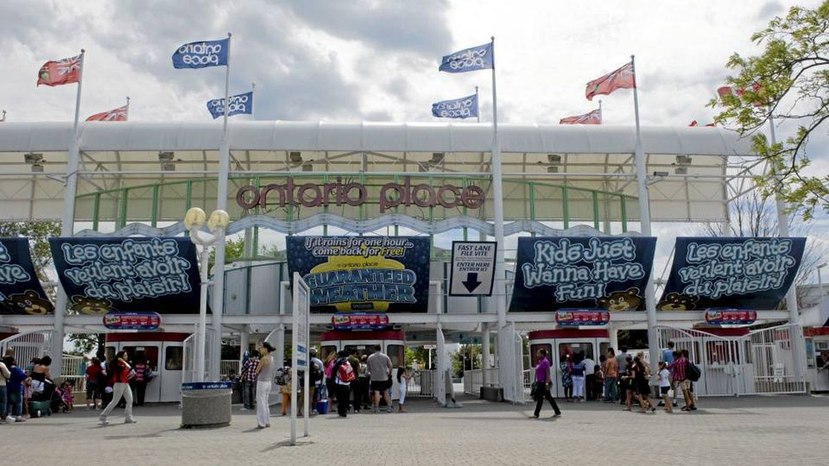 My Ontario Place Pavilion, a venue to share ideas about the future of the park, opened to the public on Tuesday.