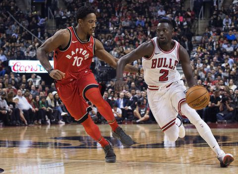 Raptors hold on for five-point victory over charging Bulls