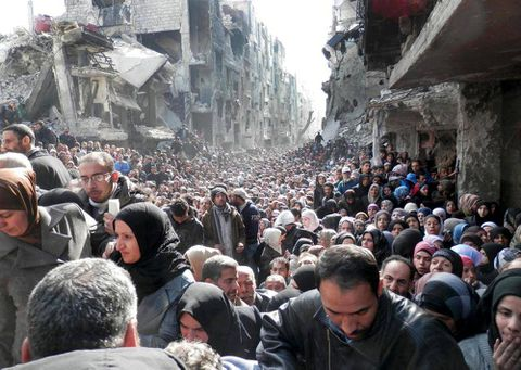 Islamic State infiltrates Palestinian refugee camp in Damascus