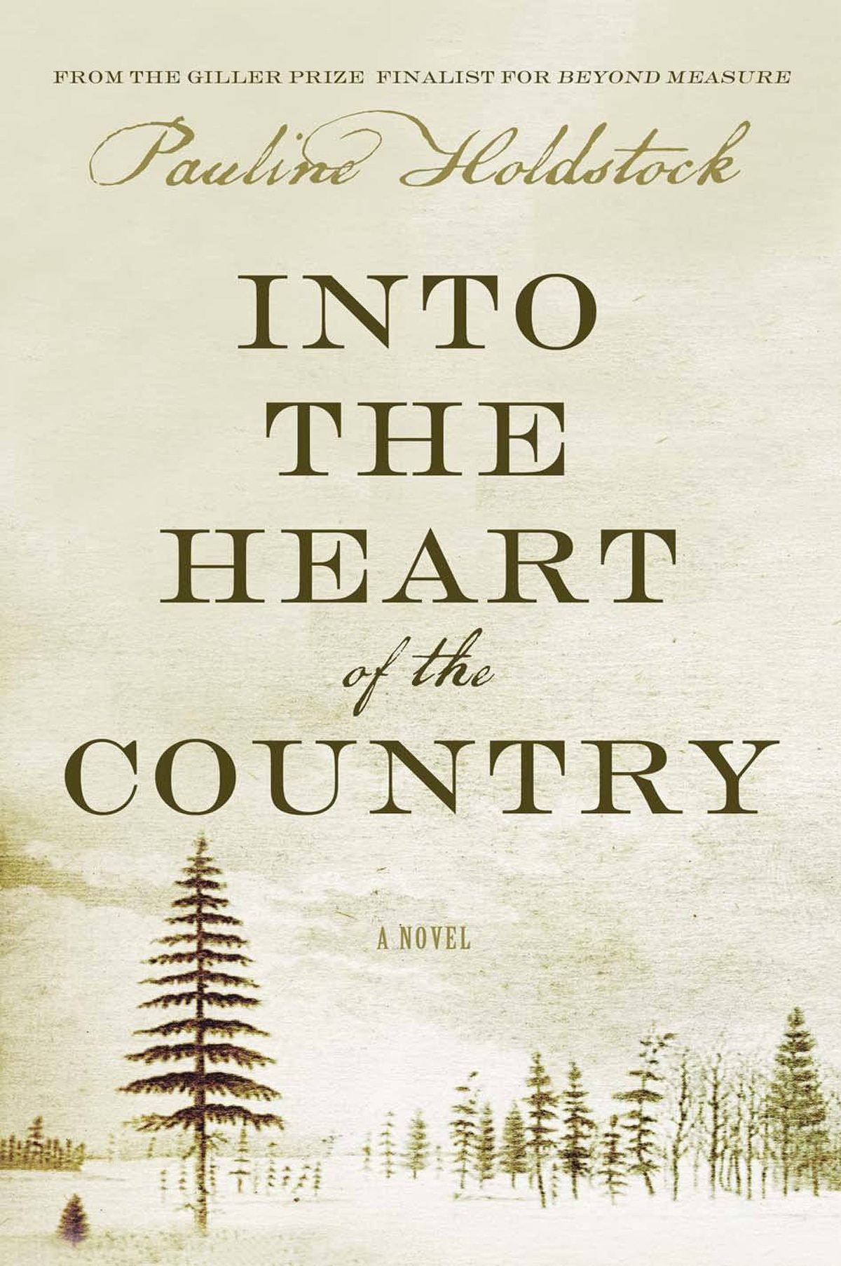 INTO THE HEART OF THE COUNTRY By Pauline Holdstock (HarperCollins) Holdstock takes on the relationship between English fur traders in Churchill, Man., and the native women on whom they relied. The novel follows the real-life, 18th-century exploits of Richard Norton, his son, Moses, and explorer Samuel Hearne, interspersing the goings-on at the Prince of Wales Fort with the dream sequences of Molly Norton, Hearne's fictional love interest. – Suzanne Desrochers