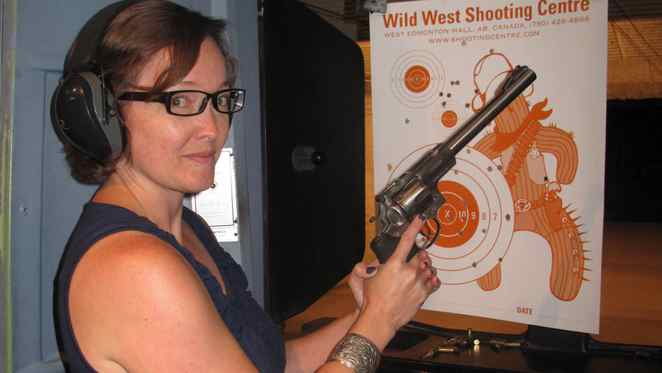 Ask yourself one question: Do you feel lucky? Learn to load and shoot handguns at the Wild West Shooting Centre at the West Edmonton Mall.