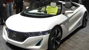 The Honda EV-STER concept car.