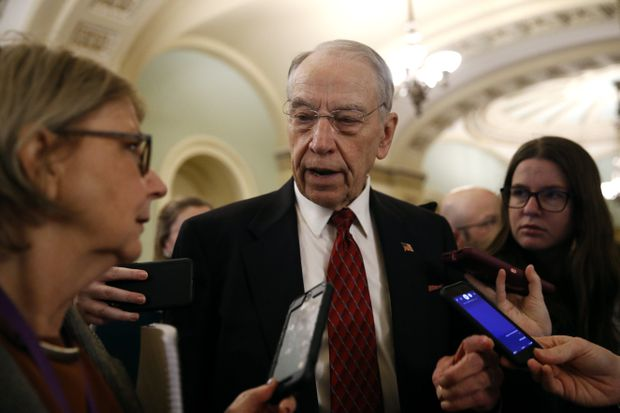 Grassley: Senate could take up USMCA in week