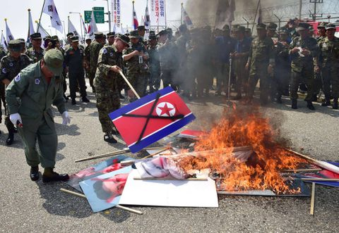 North Korea denies role in mine blasts that maimed 2 South Korean soldiers