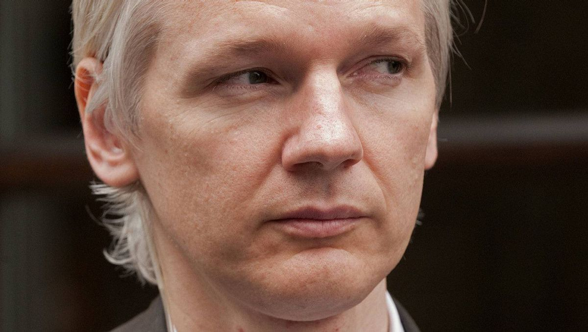The Australian founder of whistleblowing website WikiLeaks, Julian Assange, speaks to media during a news conference in London on July 26, 2010.