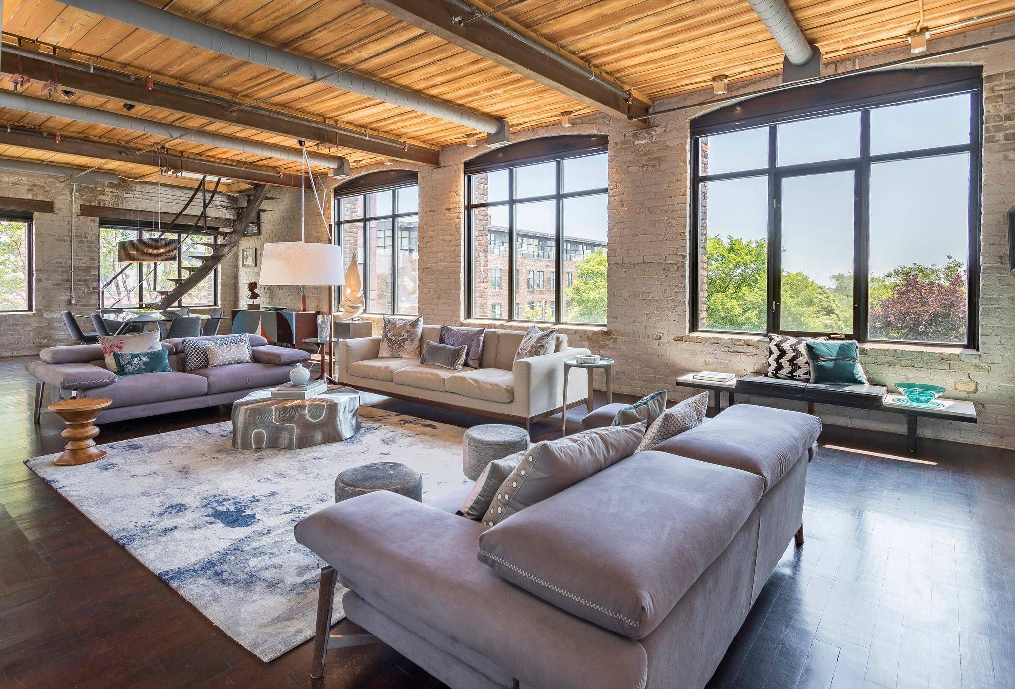Home Of The Week Toronto Loft Living With A Room
