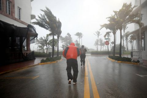 Cleanup begins as Irma moves out of Florida