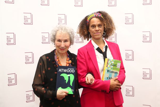 Margaret Atwood and Bernardine Evaristo win the 2019 Booker Prize