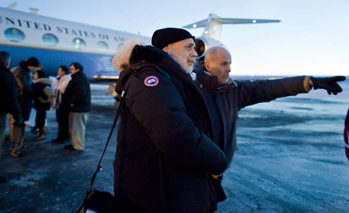 Ben Bernanke, chairman of the U.S. Federal Reserve, was among those delegates who arrived in Nunavut on Friday. While the style of the summit is more relaxed this year, the issues - preventing another global financial crisis, banking reform and forgiving Haitian debt - are anything but.