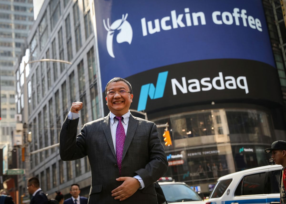 Luckin Coffee China S Aspiring Starbucks Rival Serves Up A Hot U S Ipo The Globe And Mail