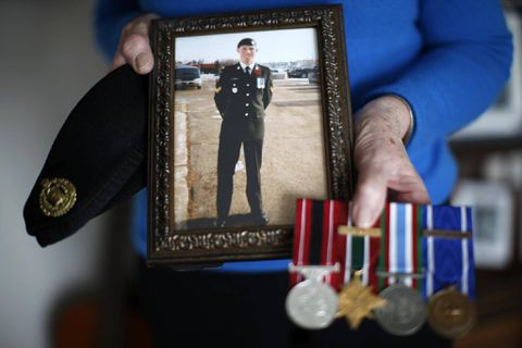 On Remembrance Day, soldier's parents honour son who died by suicide