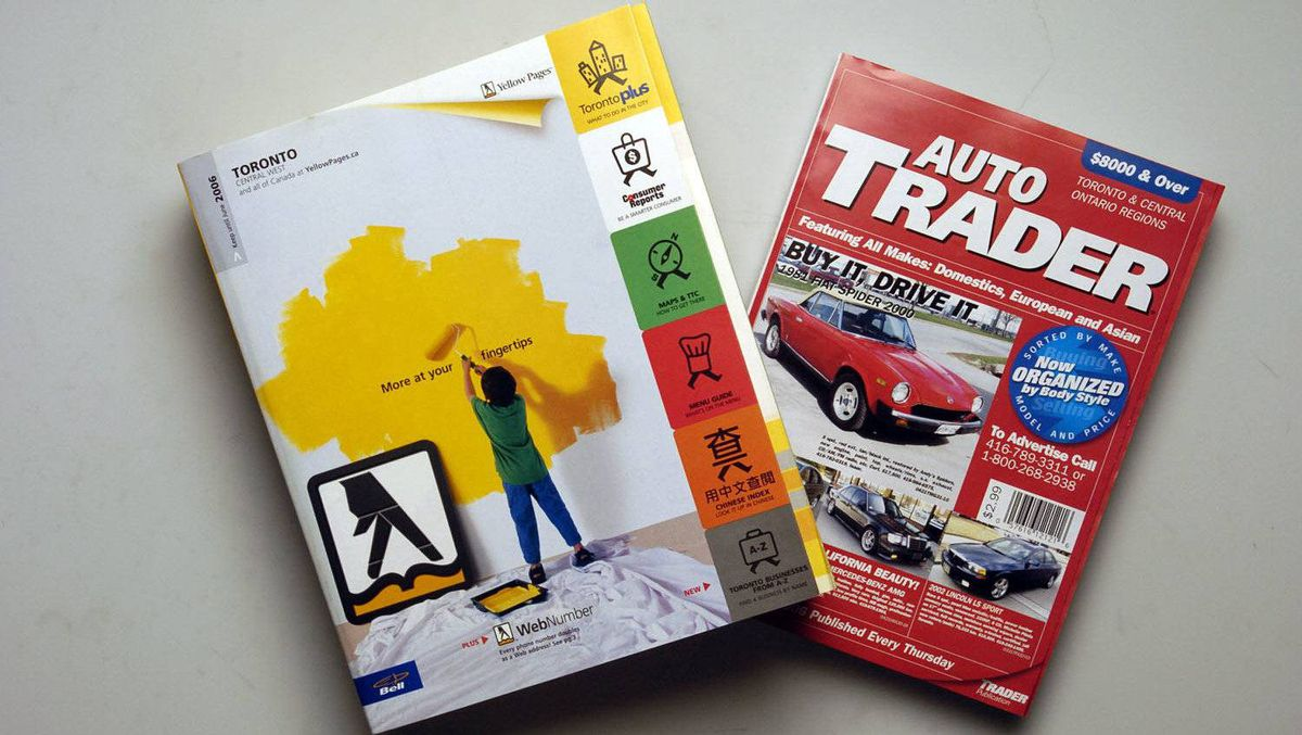 Yellow Pages and Auto Trader publications