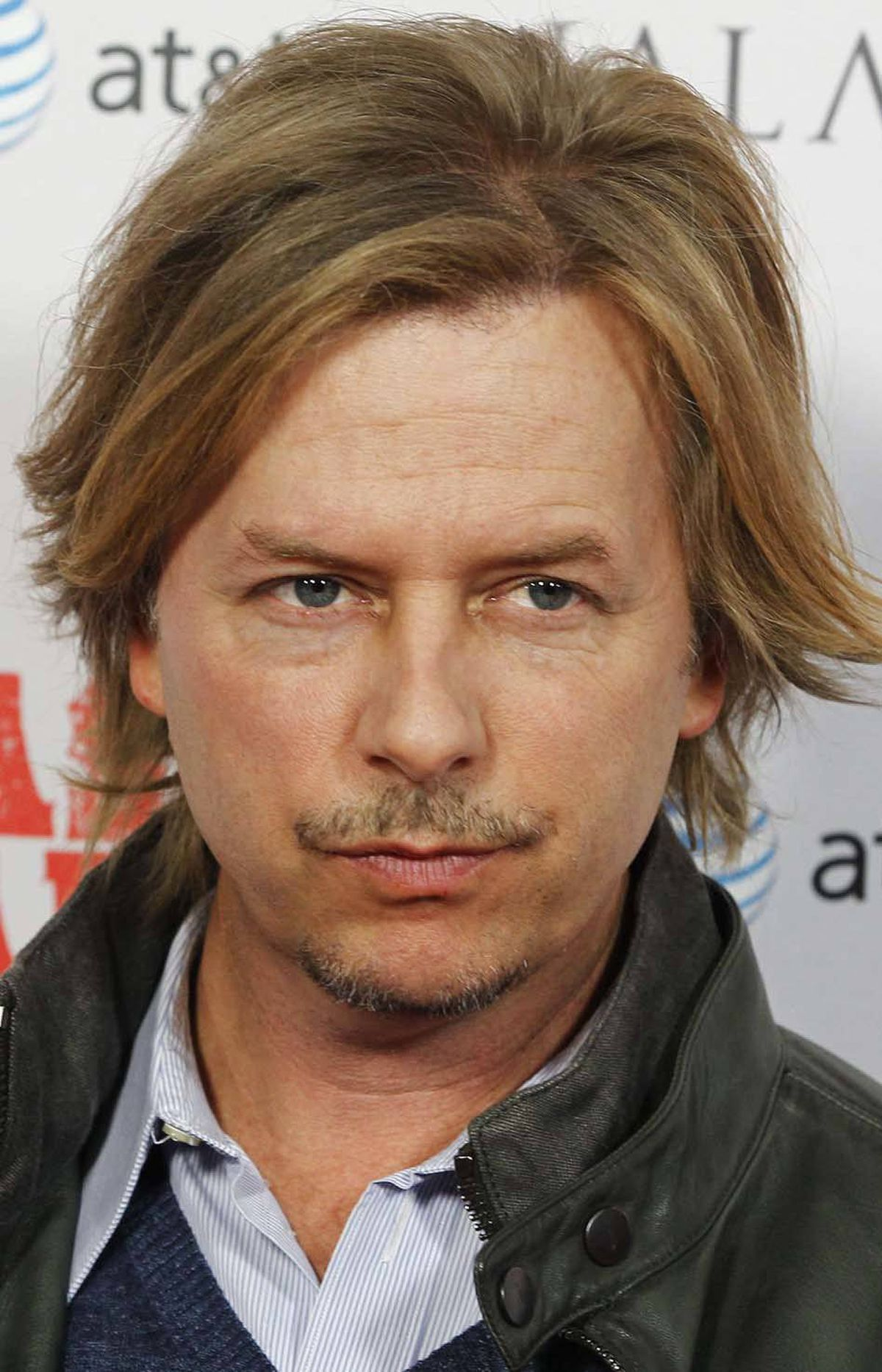 "Actor David Spade flashes a little Blue Steel at the premiere of ""Casa de mi Padre"" in Hollywood last week."