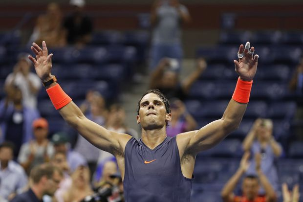 Nadal feeling fortunate after edging Thiem in thriller