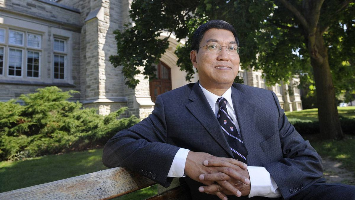Dr. Amit Chakma is photographed on campus on in London, Ont. on Sept. 4/2009.