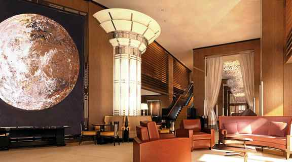 The mansion-like 45 Park Lane in Mayfair is built on the Playboy Club's original London site.