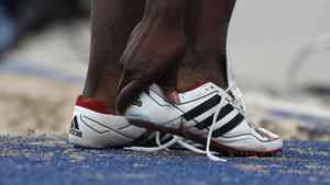 1920 Adolf 'Adi' Dassler begins making shoes. By 1936, his shoes are worn by Jesse Owens. In 1948, Dassler founds Adidas.