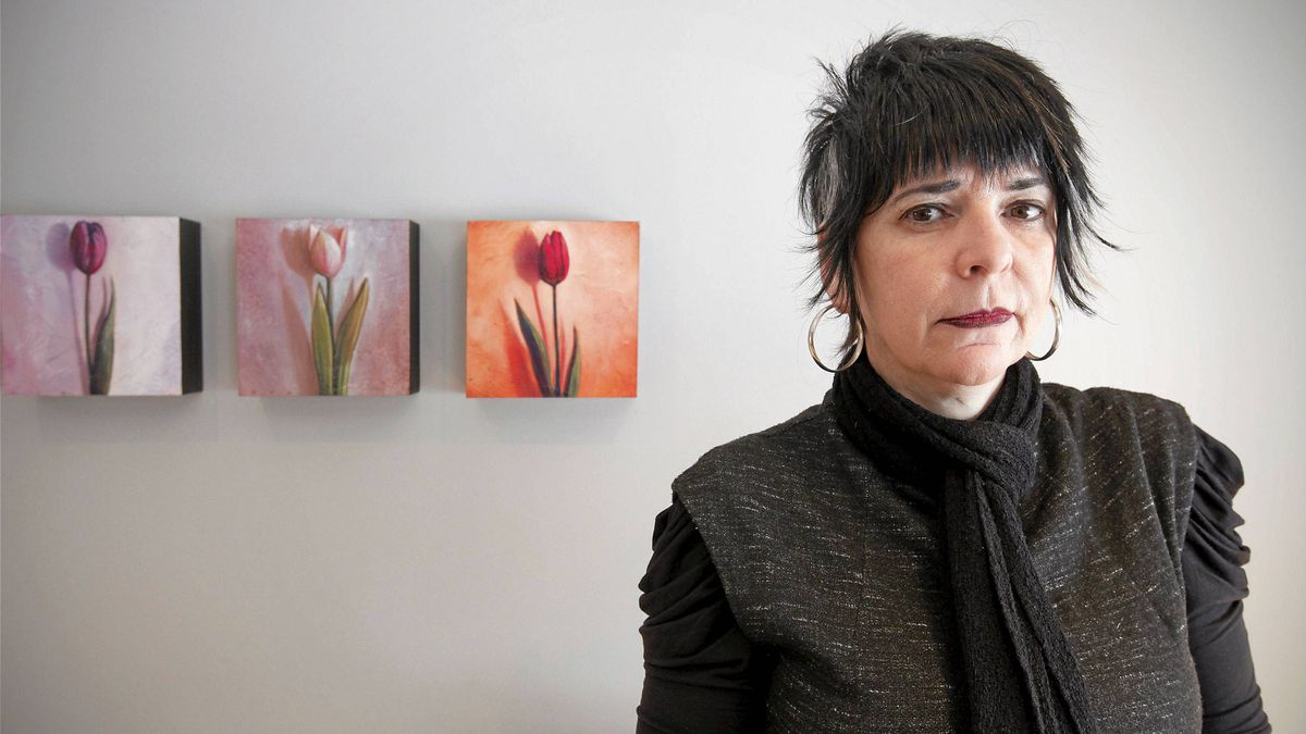 Harriet Berkal poses for a photograph in her Winnipeg home on Jan. 24, 2011.