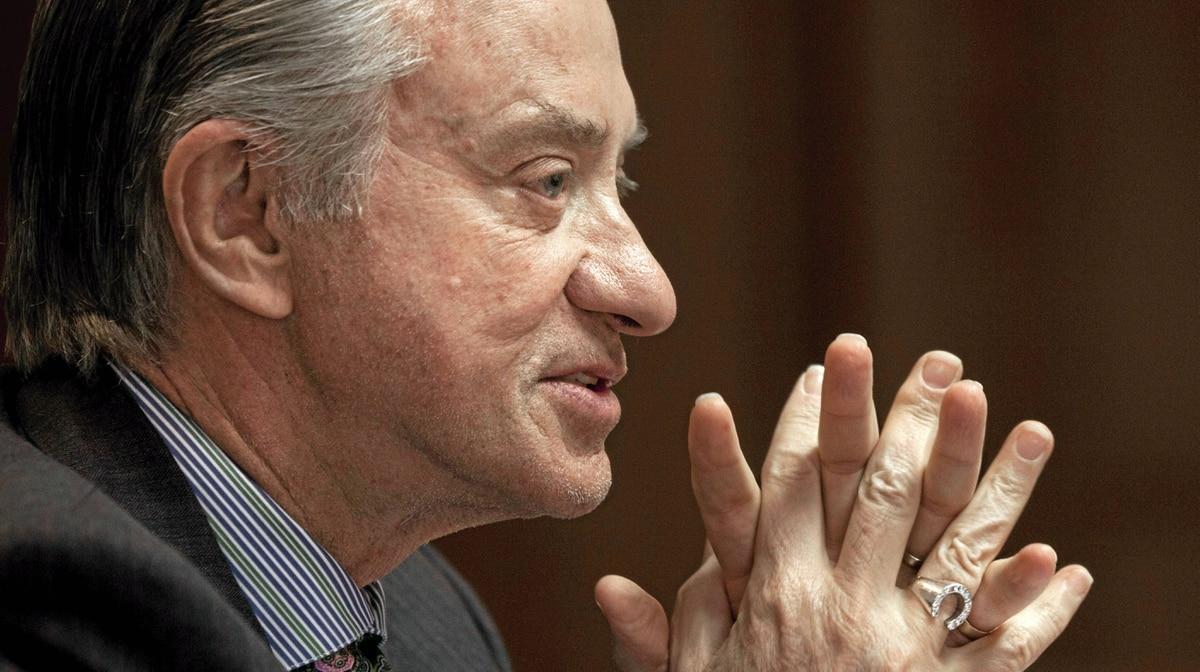 Ontario Lottery and Gaming Corp. chairman Paul Godfrey says he believes a downtown site is the best option for a multibillion-dollar casino and entertainment complex because it would be close to existing hotels and restaurants, as well as public transit.