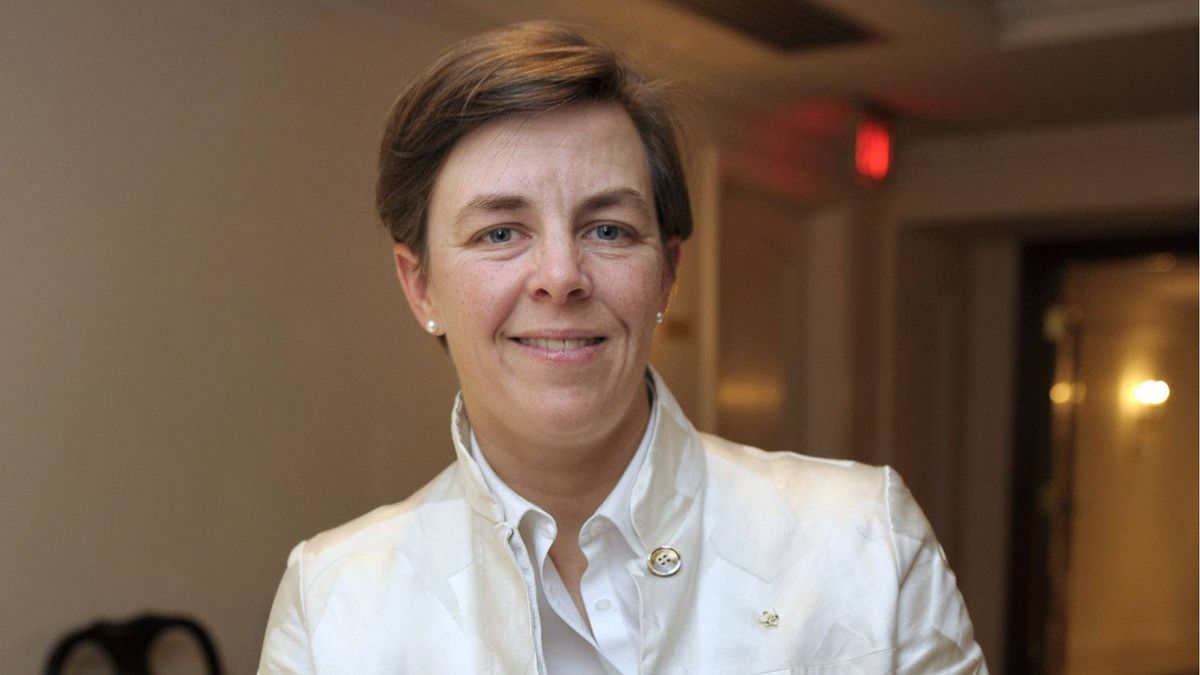 Dr. K. Kellie Leitch, an Associate Professor at the University of Toronto and also an orthopaedic paediatric surgeon at the Hospital for Sick Children in Toronto poses for portrait Sept. 17, 2010, after speaking at an Economic Club luncheon. She announced she was running for the Conservative Party of Canada in the riding of Simcoe-Grey. The CPC won the seat when Helena Guergis ran, but Guergis has since resigned cabinet and left the party and is now an independent.