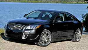 2012 Buick Regal GS__Credit: Michael Bettencourt for The Globe and Mail