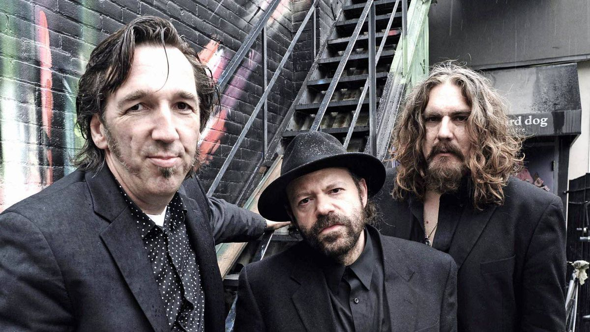 Blackie and the Rodeo Kings: Colin Linden, Stephen Fearing and Tom Wilson.