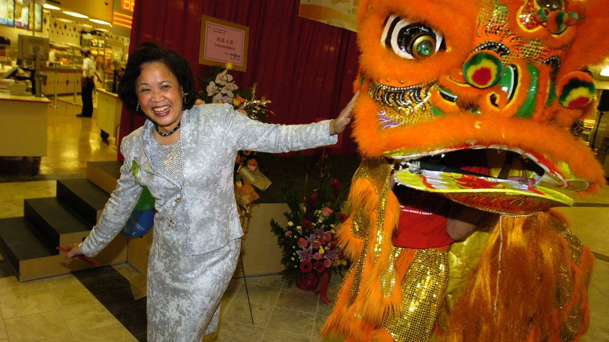 Cindy Lee of T&T Supermarket