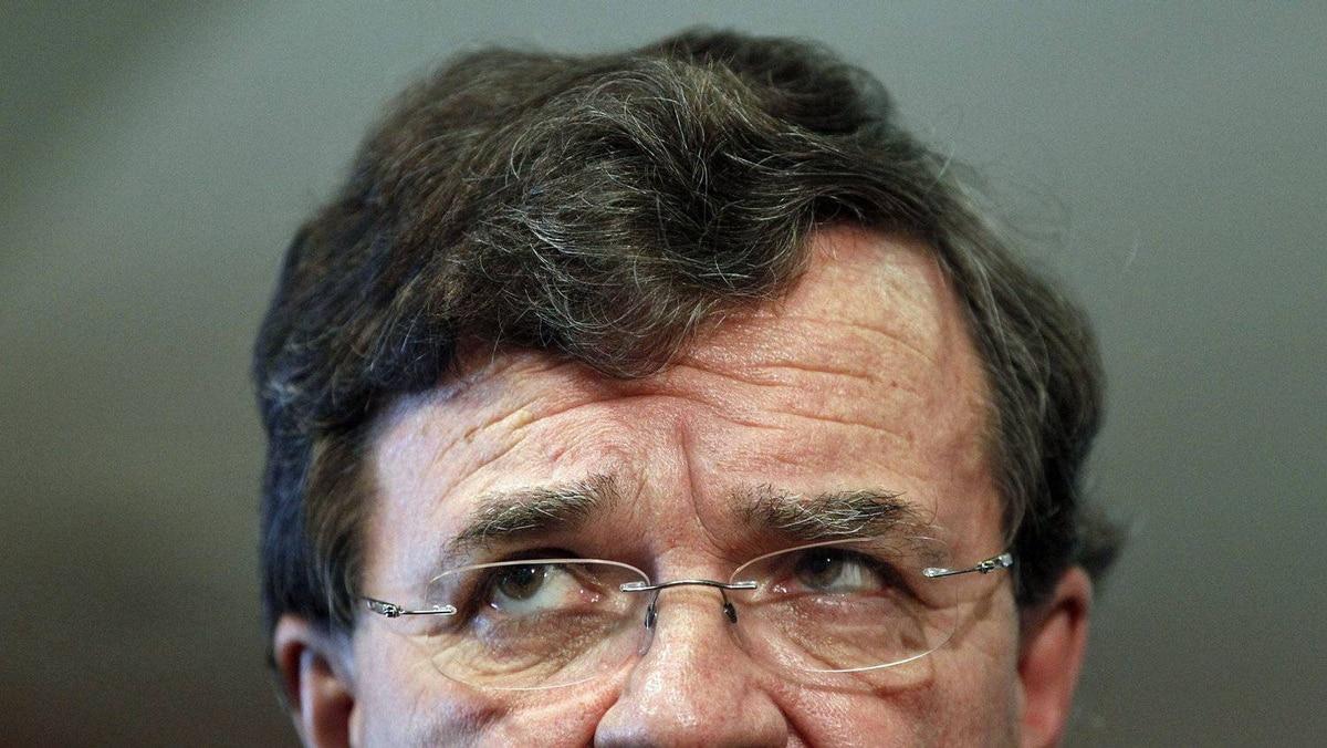 Finance Minister Jim Flaherty speaks at an Ottawa news conference on Sept. 30, 2010.