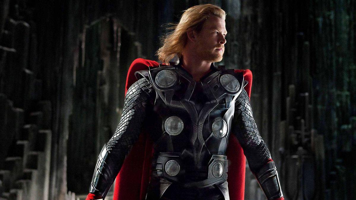 Chris Hemsworth plays Thor.