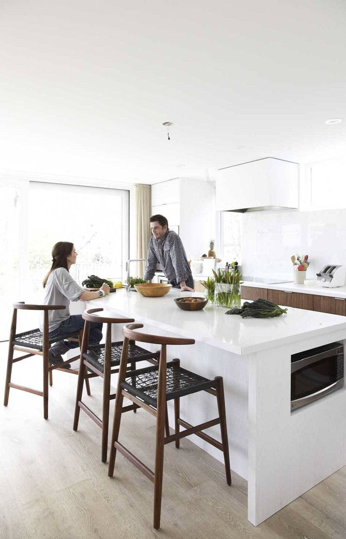 When John and Patsy Bell designed their kitchen, environmental sensitivity and their young family were top of mind.