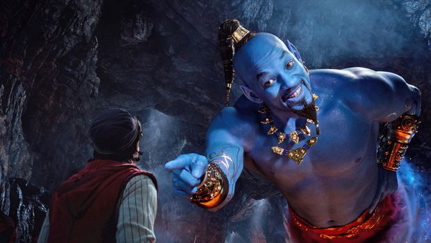 Guy Ritchie's Aladdin is tolerable, except when Will Smith's Genie pops up, at which point it's pure nightmare fuel