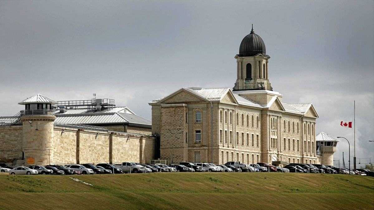 Correction Canada's Stony Mountain Institution just north of Winnipeg, Aug. 8, 2011.