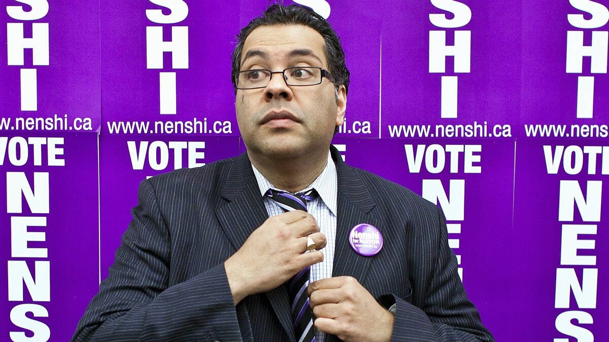 Calgary mayoral candidate Naheed Nenshi. Chris Bolin for The Globe and Mail