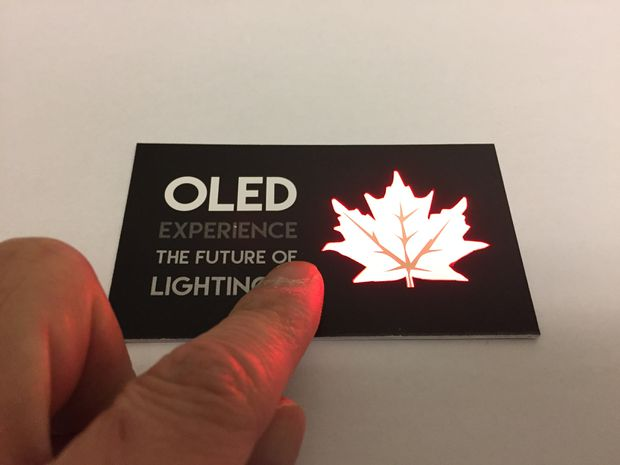 Ultra-thin OLED lighting.