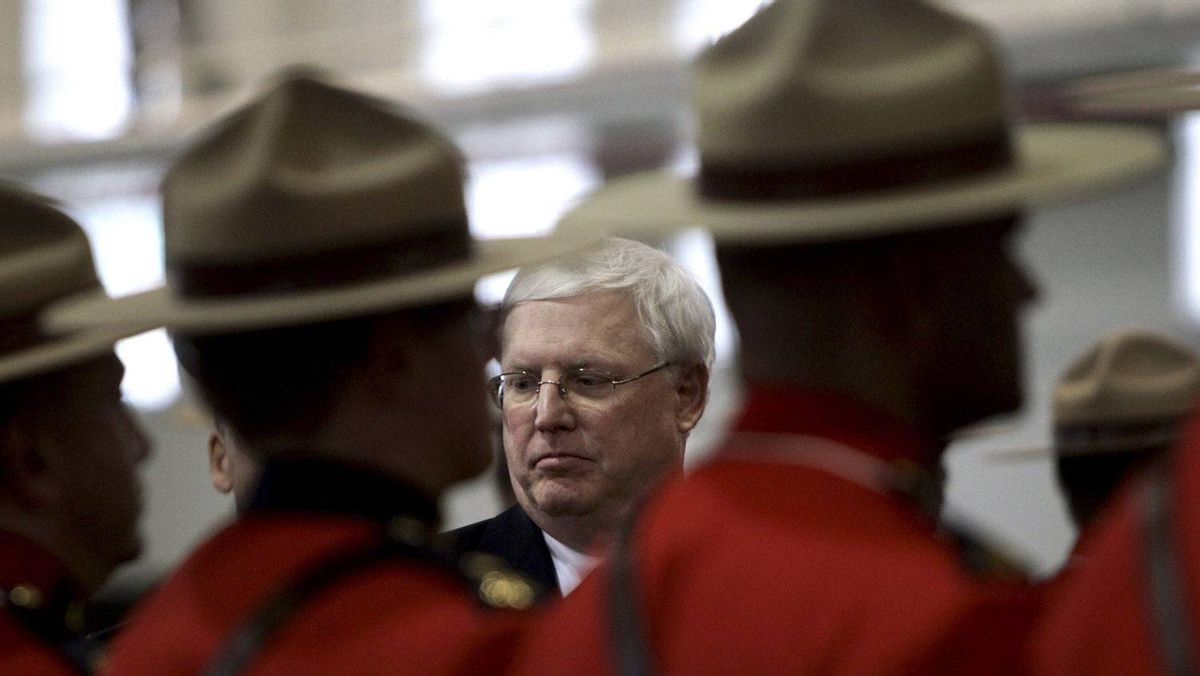 William Elliott, the first civilian commissioner of the RCMP, is stepping down this summer.