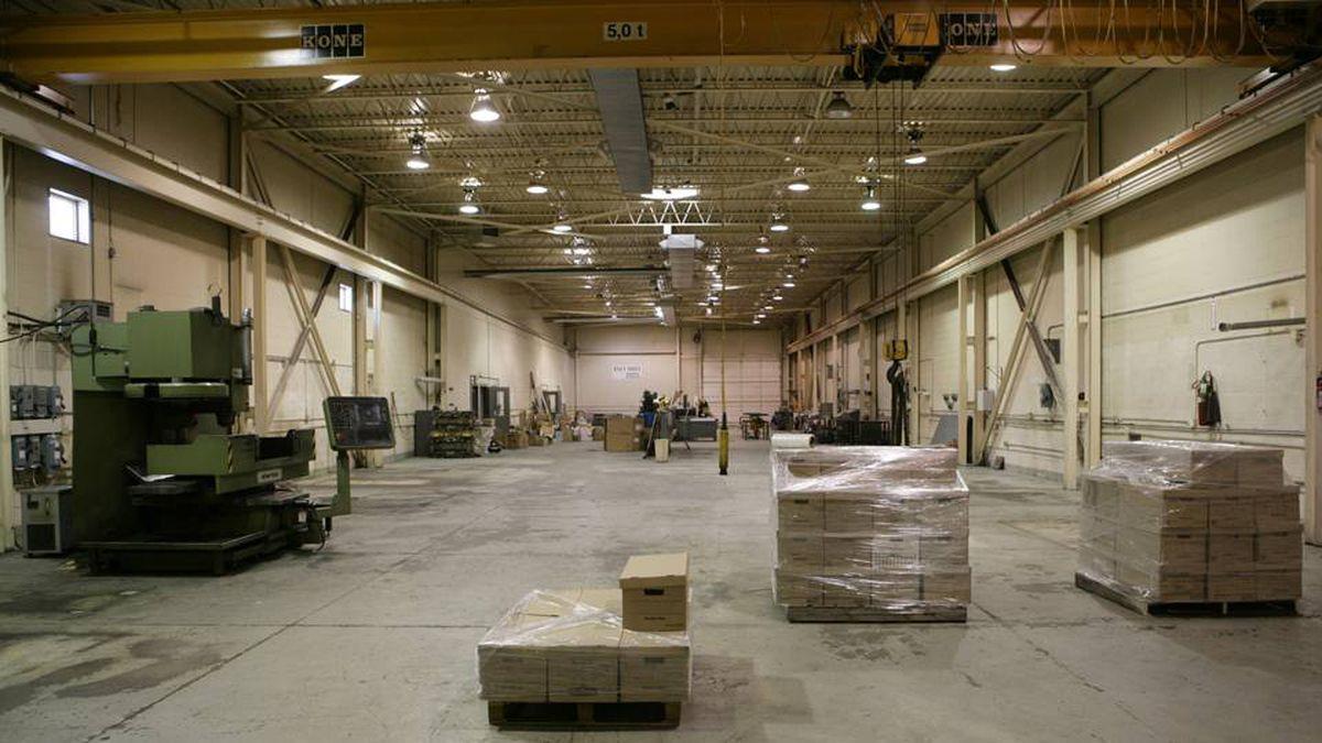 An empty factory in Ontario