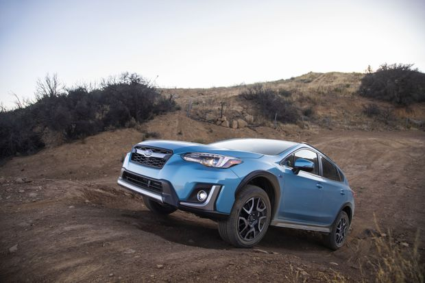 Subaru's new hybrid Crosstrek is a capable vehicle, but EVs still have a steep hill to climb