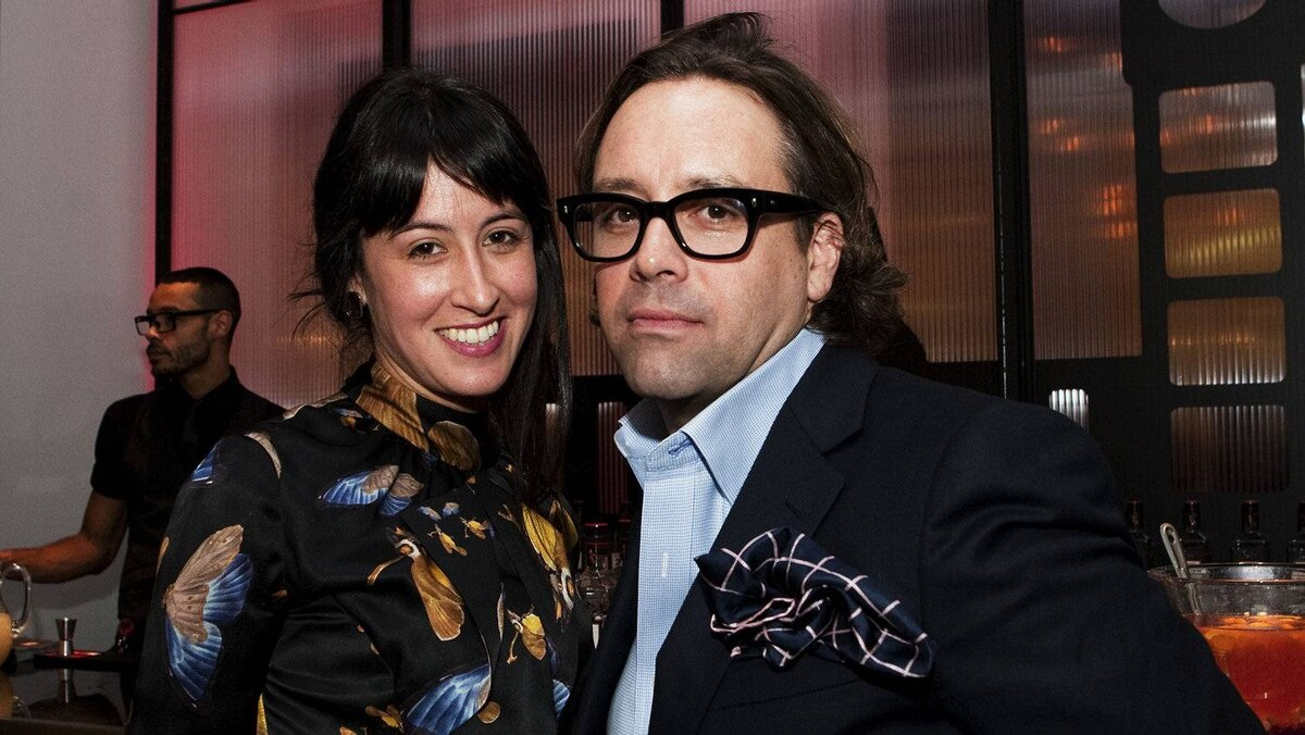 Esme Rambert and Nicholas Mellamphy, creative director for The Room
