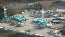 Encana Horn River gas play in B.C.