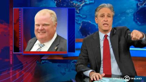 Rob Ford saga biggest Canadian story in U.S. this century