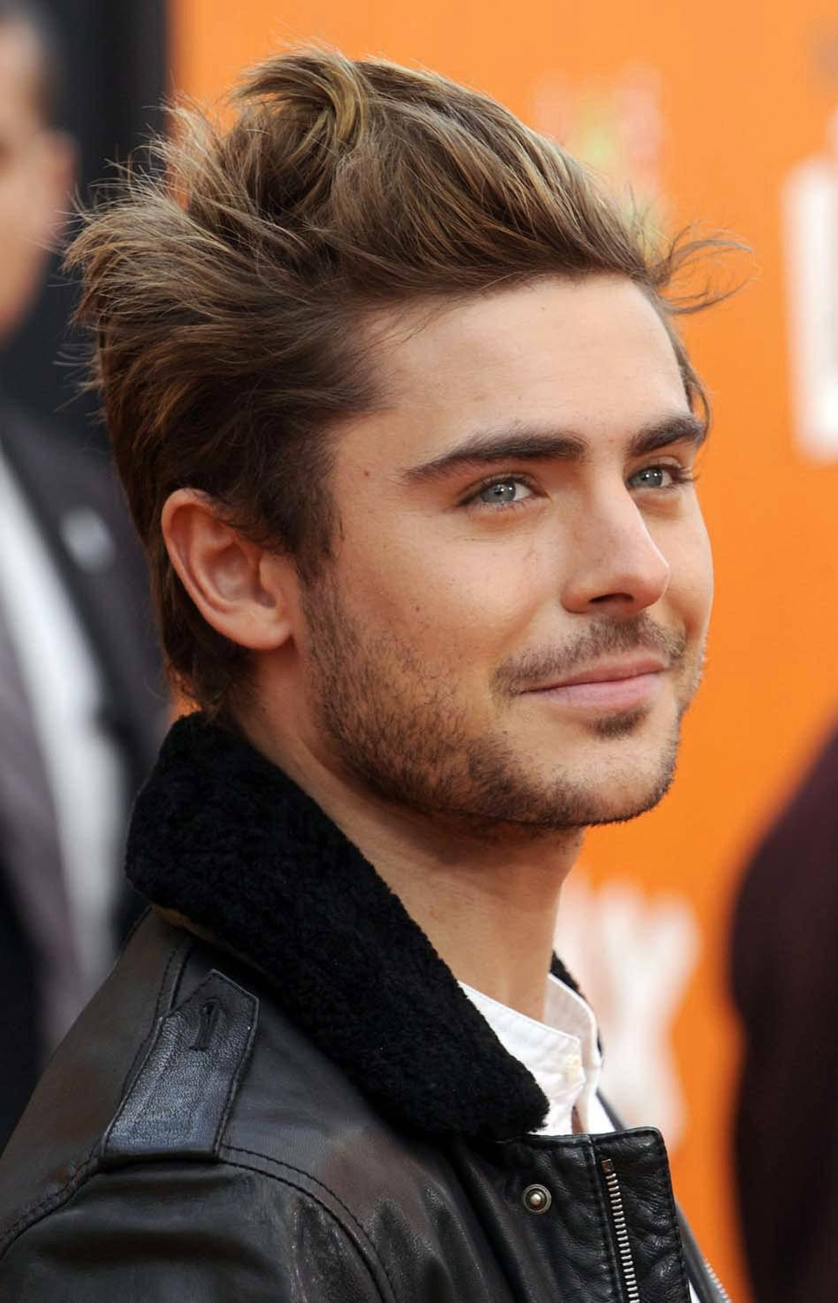 "Later, Zac Efron was out-acted by his hair at the premiere of ""Dr. Seuss' The Lorax"" in Los Angeles on Sunday."