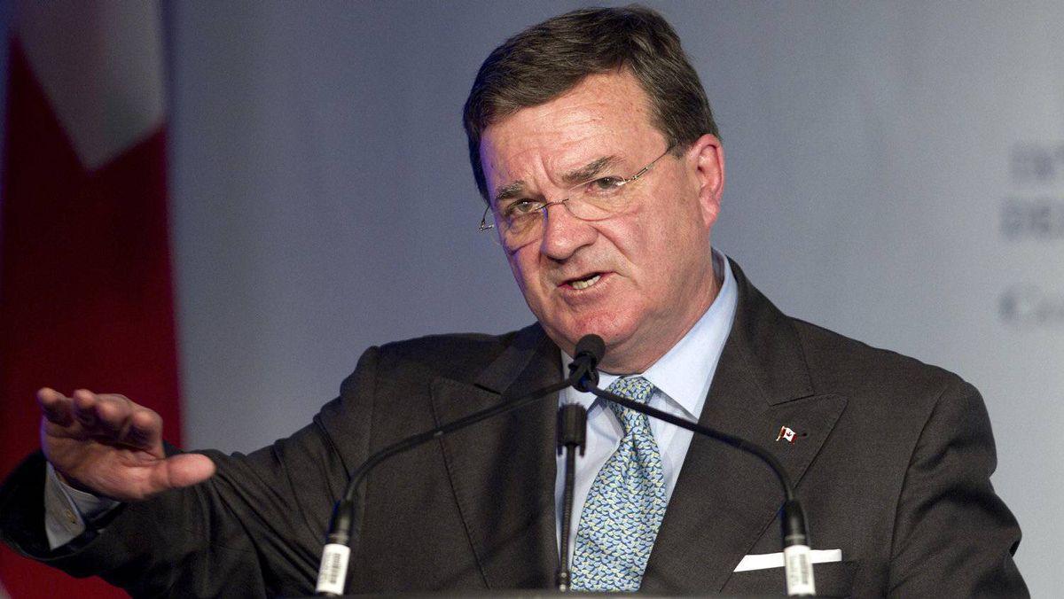 Federal Finance Minister Jim Flaherty
