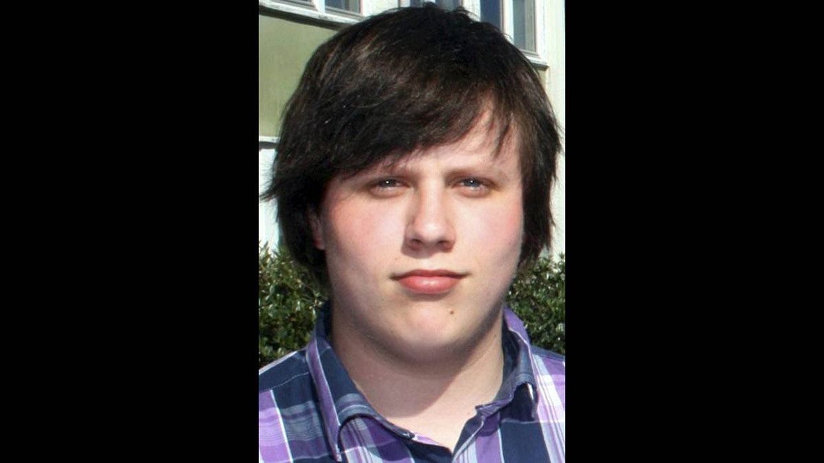 Syvert Knudsen, 17, from Lyngdal Norway was killed in the tragic events at Utoya and in Oslo Friday July 22, 2011.