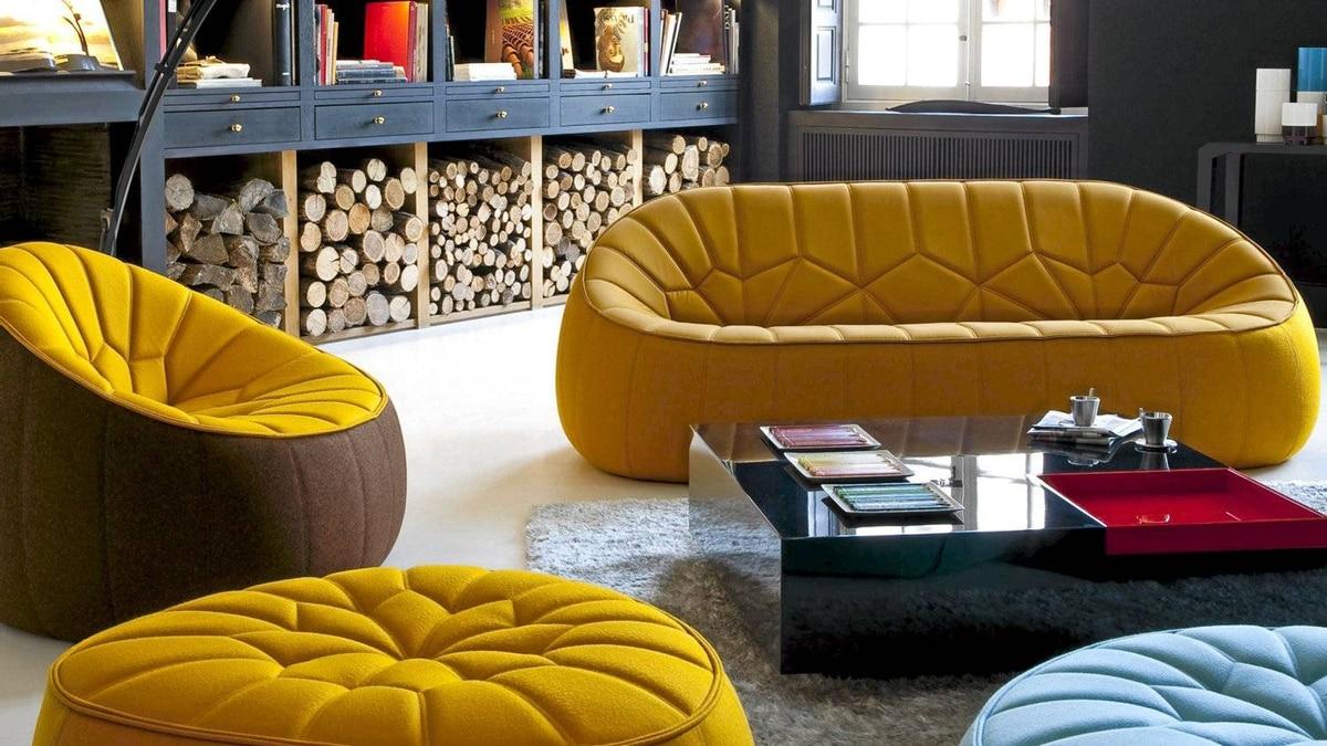 Pouf furniture by Ligne Roset