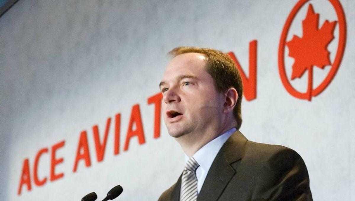 ACE Aviation Holdings Inc. CEO Robert Milton