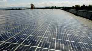 Germany gets 20 per cent of its electricity from renewable energy and nearly 4 per cent from one million photovoltaic producers, who generate power from rooftop solar panels.