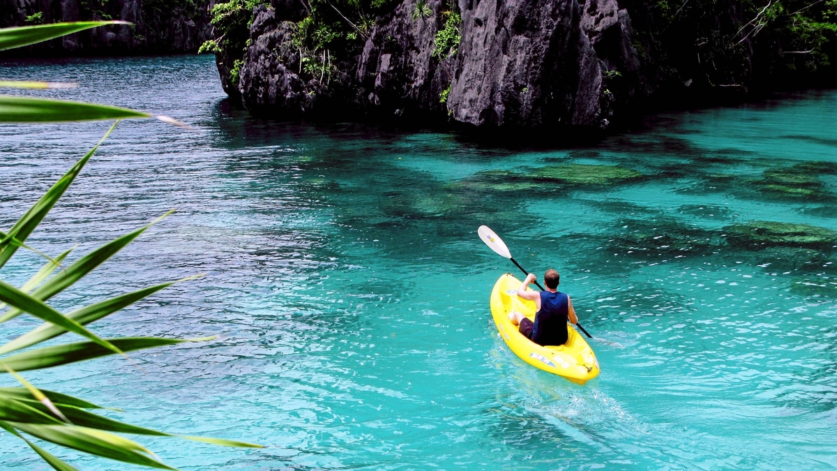 El Nido, located on Palawan's northern tip, has some of the world's best diving and sea kayaking.