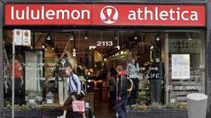 A Lululemon outlet in B.C.