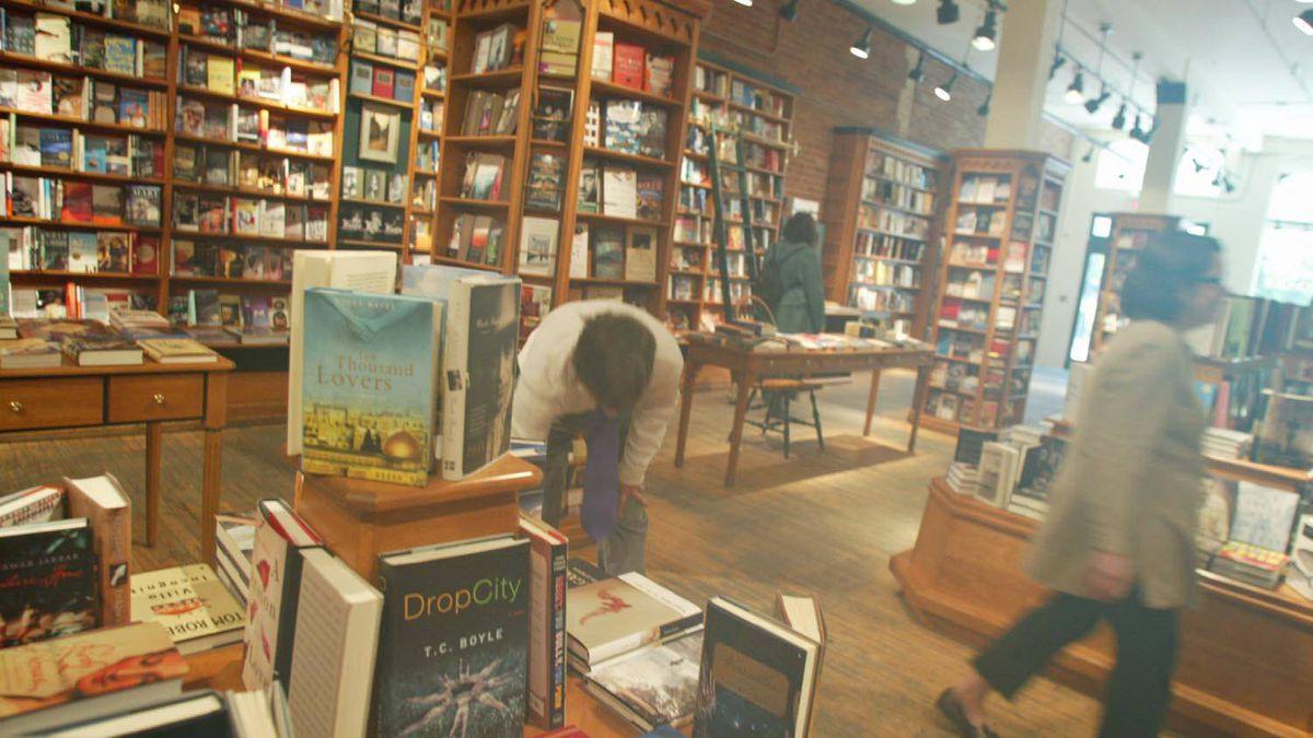Nicholas Hoare Books in Toronto, June 8, 2003.