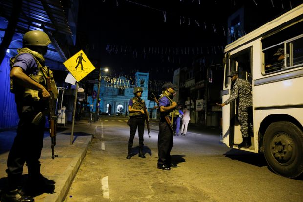 Details begin to emerge of 'well-educated' suspects in Sri Lanka